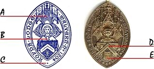 The Royds Lodge Seal